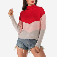 Red Color Women Ladies Casual Winter Clothes pullover Long Sleeve Pullovers swetry damskie Blouse Tops Sweater truien dames #C8(China)