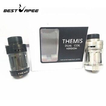 THEMIS RTA 5ML 2ML tank atomizer Dual Coil Leak Proof diameter 24MM RTA for mech mod electronic cigarette vapporizer rda rba mod