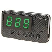 Universal GPS HUD Speedometer Head Up จอแสดงผลรถความเร็วจอแสดงผลนาฬิกาปลุกความเร็วสูงสร้อยข้อมือผู้ถือ USB MPH Km/ H สำหรับ Vehic-ใน เครื่องวัดความเร็ว จาก รถยนต์และรถจักรยานยนต์ บน