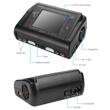 New Upate!!HTRC T400 Pro Lipo Battery Charger DC400W AC 200W 12A*2  Discharger RC  For LiPo LiHV LiFe Lilon NiCd NiMh Pb battery