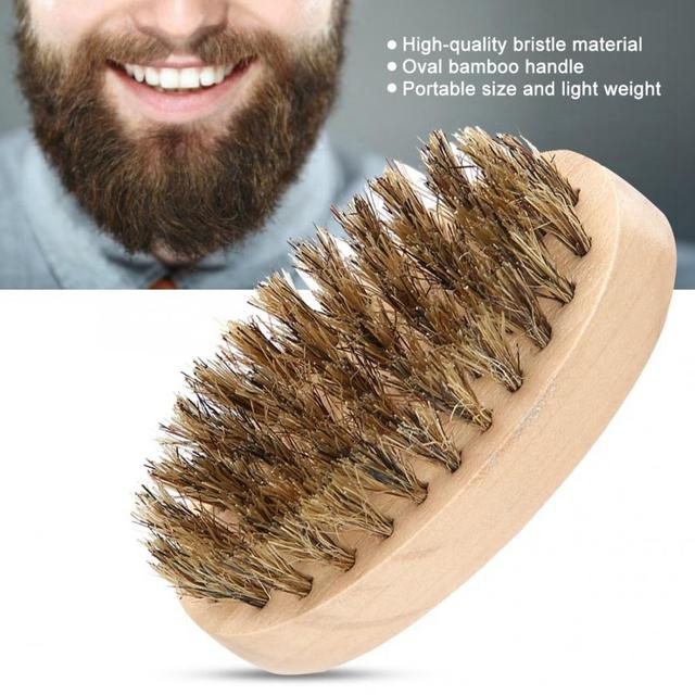 Men's Beard Brush with Soft Bristles
