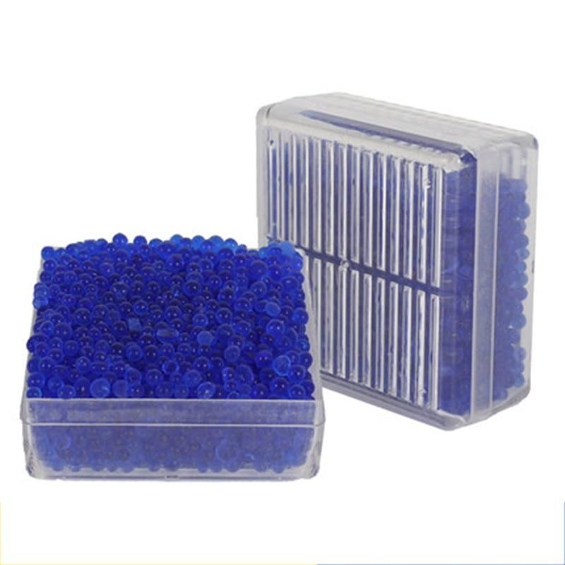 Силикагель блок осушителя многоразовые влажной влаги Абсорбирующая коробка влагостойкие шарики осушителя Цвет-изменение