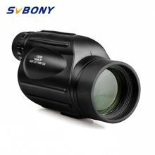 Svbony SV49 Монокуляр 13x50 с большим увеличением ремешок водостойкий телескоп для прогулок, охоты и кемпинга Birdwatch F9342