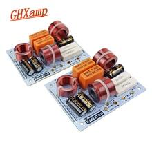 GHXAMP 200W 3 דרך מוצלב רמקול קולנוע ביתי מדף ספרים רמקול 5 8ohm 900HZ 5000HZ 3 12 אינץ רמקול 1 זוגות