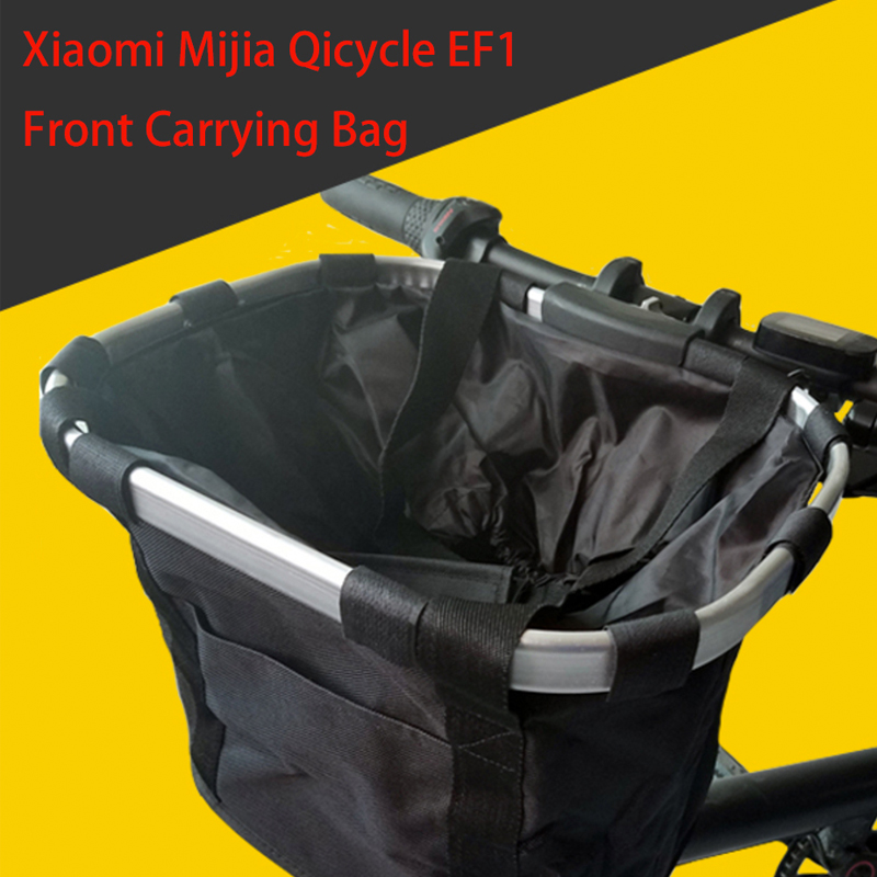 For Xiaomi Mijia Qicycle EF1 Electric Scooter Storage Front Pet Carrying Bag Basket Package for Foldable Electric E Bike Scooter-in Scooter Parts & Accessories from Sports & Entertainment    1