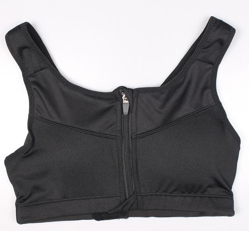 Women's Zipper Push Up Sports Bra 24
