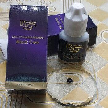 IB Ibeauty Black Coat for eyelash extensions Semi Permanent Mascara Korea Original 10ml False eyelash glue Makeup tools Shop 5