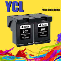 YLC 302XL Substituição Compatível para HP 302 para HP302 XL Cartucho de Tinta para Deskjet 1110 1111 1112 2130 2131 impressoras