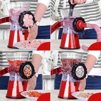 Household Meat Grinder Enema Stuffer Meat Cutter Processor Blender Sausage Shredded Vegetable Paprika Complementary Food Machine 2