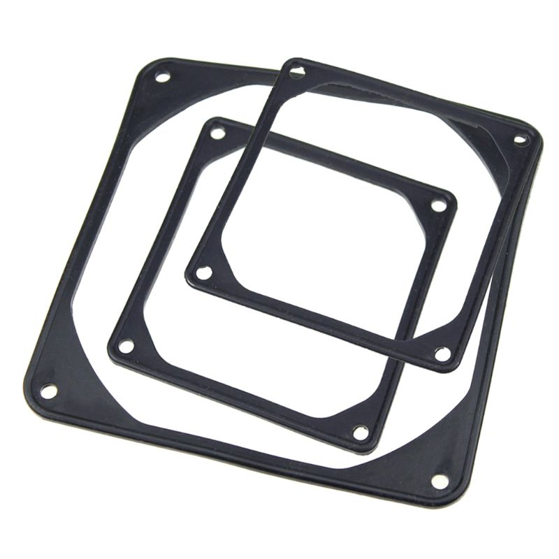 5PCS Silicone Rubber Fan Anti-Vibration Rubber Gasket Shock-proof Absorption Pad For PC Computer Case
