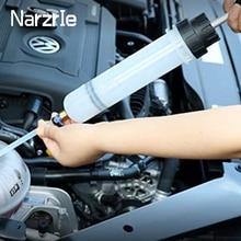Extrator fluido de óleo do carro bomba de ar automático de enchimento seringa garrafa transferência extração combustível automotivo mão bomba dispenser ferramentas 200cc