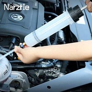 Image 1 - Extrator fluido de óleo do carro bomba de ar automático de enchimento seringa garrafa transferência extração combustível automotivo mão bomba dispenser ferramentas 200cc