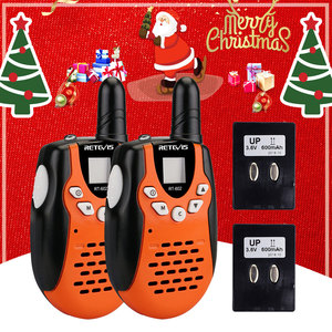 2pcs Rechargeable Walkie Talki