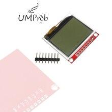 3,3 В обновления 5110 ЖК модуль Дисплей Монитор HX1230 96x68 изображение текст дисплей