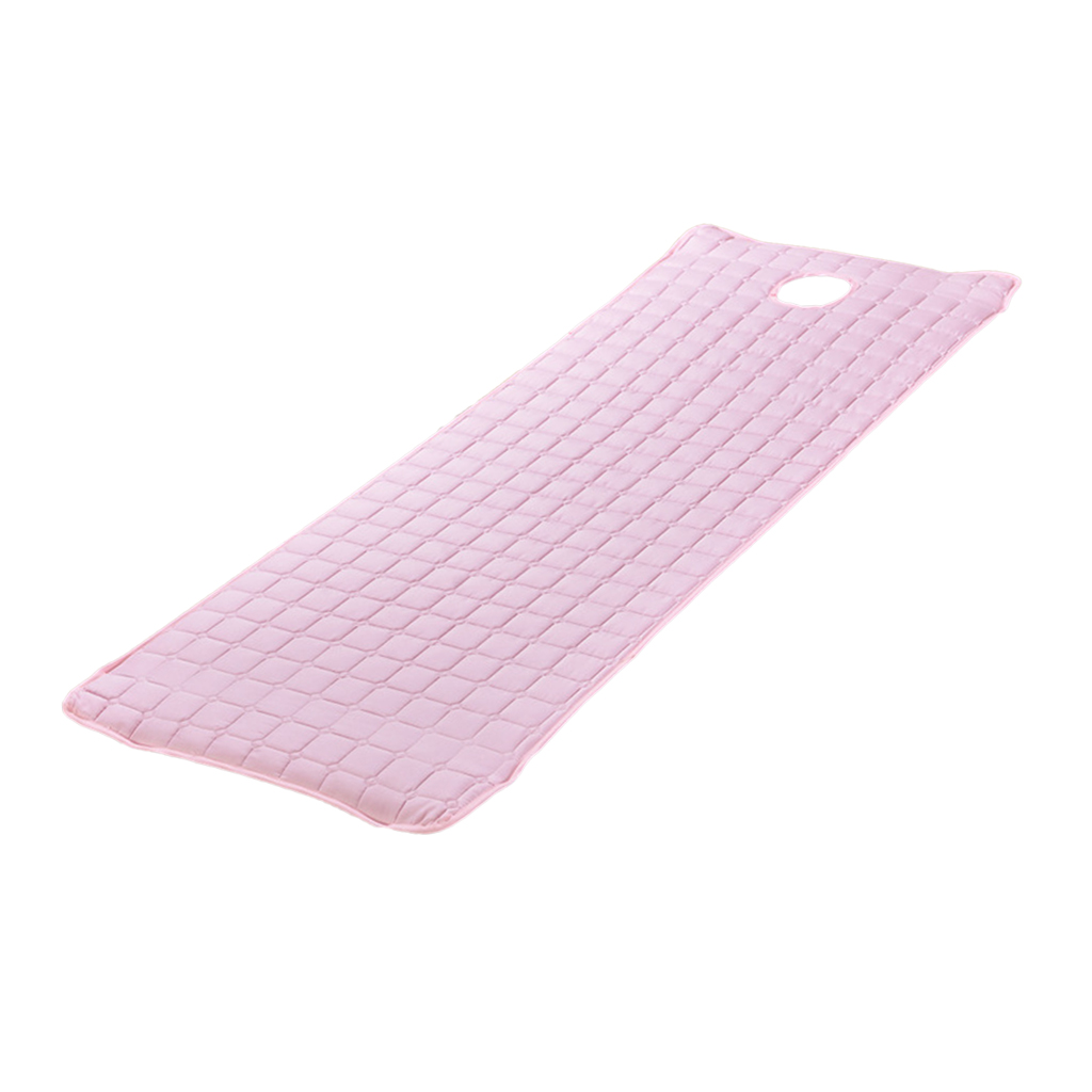 185x70cm Massage Table Cover Mattress Bed Sheet with Face Breath Hole Cosmetic Salon Mattresses SPA Massage Bed Cover