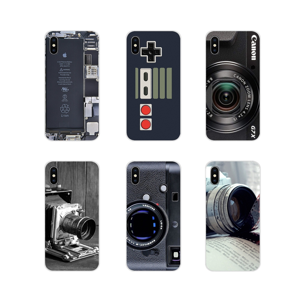Reminiscent Classic Camera <font><b>Battery</b></font> For <font><b>Sony</b></font> <font><b>Xperia</b></font> Z Z1 Z2 Z3 Z5 compact M2 M4 M5 E3 T3 <font><b>XA</b></font> Huawei Mate 7 8 Y3II Cell Phone <font><b>Cases</b></font> image