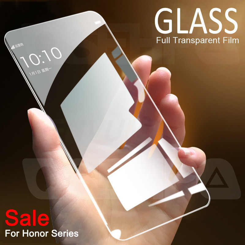 9H Protective Glass On The For Huawei Honor 20 10 9 8 Lite Screen Protector For Honor 9X 8X V20 V10 V9 Tempered Glass Film