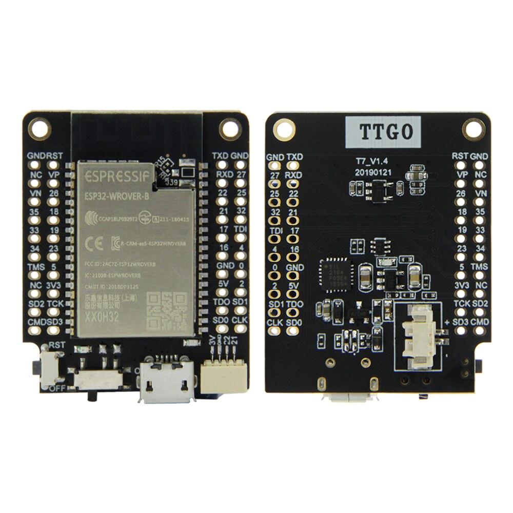 LILYGO® TTGO T7 V1.4 Mini32 ESP32-WROVER-B PSRAM Wi-Fi Bluetooth Module Development Board