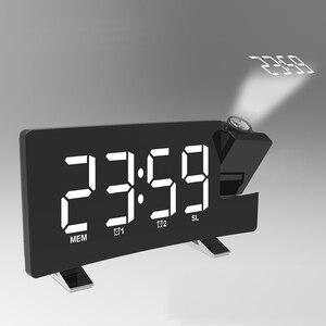 Projection Alarm Clock Digital