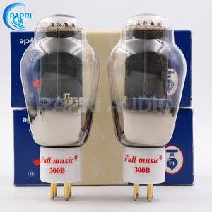 Image 2 - 1Pair TJ Fullmusic 300B Vacuum Tube Solid Plate Gold Pins Ceramic Base Alternative To Other Brands 300B Vacuum Tuba Audio