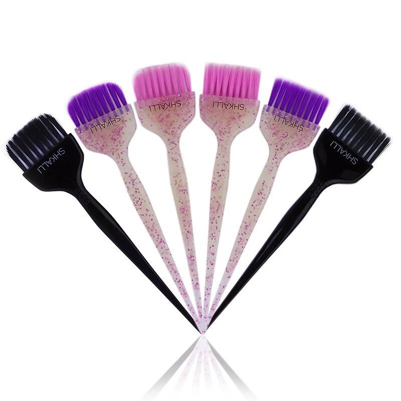 Glitter Dye Brush,Hair Dye Brush,Balayage Tint Brush,hair Coloring Brush,hair Bleach Brush For Hair Dyeing Balayage