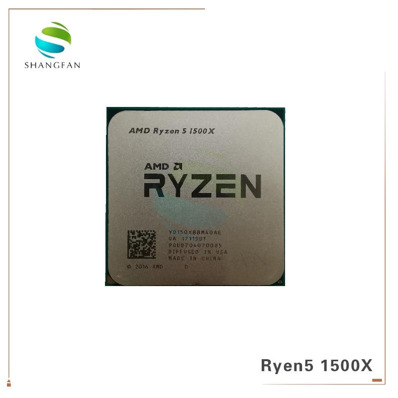 Четырехъядерный процессор AMD Ryzen 5 1500X R5 1500X 3,5 ГГц L3 = 16M 65 Вт YD150XBBM4GAE Socket AM4