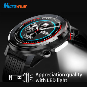 Image 3 - 2020 New Microwear L15 Smart Watch Men IP68 Waterproof smartWatch ECG PPG Blood Pressure Heart Rate sport fitness Smartwatch