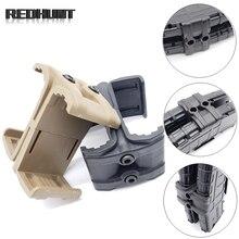 Двойной соединитель M4 AR15 для магазина, скоростной погрузчик для винтовки, параллельный соединитель для страйкбола, аксессуары для охоты