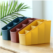 Desktop Plastic Storage Box Multi-Part Cosmetic Finishing Student Household Jewelry