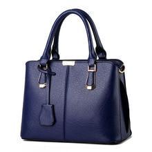 цена на New Famous Brand Luxury Handbags Fashion Solid Color Totes Designer Shoulder Bag For Women Quality Messenger Bag Bolsa Feminina