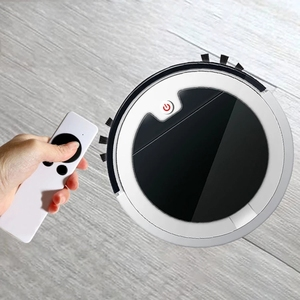 Robotic Vacuum Cleaner with Self-Charging, 360° Smart Sensor Protectio, Multiple Cleaning Modes Vacuum Best For Hairs(China)