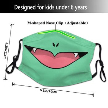 Mascarilla reutilizable de Bulbasaur en Pokémon Merchandising de Pokémon Mascarillas de Anime