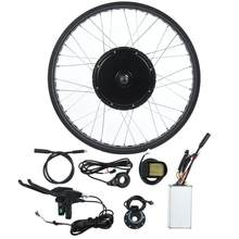 36V 48V 72V 500-3000W Electric Bicycle Conversion Kit E-bike Controller Motor 26inch Wheel LCD5 Meter Finger Handle E-bike Parts(China)