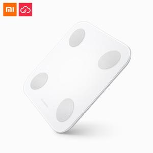 Image 1 - Xiaomi yunmai スマートママ体脂肪スケール mini2 浴室重量 BMI 電子 LED デジタル bluetooth アプリ