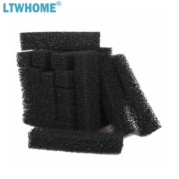LTWHOME Compatible Carbon Filter Pad Replacement for Aqueon QuietFlow LED PRO Power Filter, 20/75 image