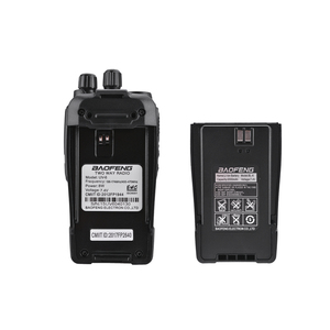 Image 5 - Baofeng UV 6 Radio de seguridad de 8W Ham, equipo de protección de Radio bidireccional, Walkie Talkie de mano cifrado Ham Radio HF transceptor, 2 uds.