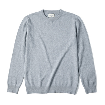 KUEGOU Autumn winter clothing  Solid color Men's sweater stretch Couple pullovers fashion warm sweaters top plus size YYZ-2209 11