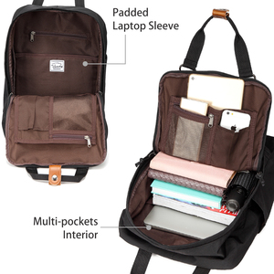 Image 4 - VASCHY Women Backpack School Bags for Girls Women Travel Bags Bookbag Laptop Backpack for Women Mochila Feminine Female Backpack