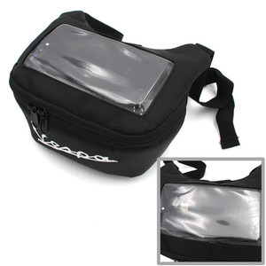 Image 3 - Motorcycle Handlebar Bag For tmax 560 530 vespa gts 300 hpe The Windscreen Bag Fuel Tank Bag Mobile Phone Touch Screen Earphone