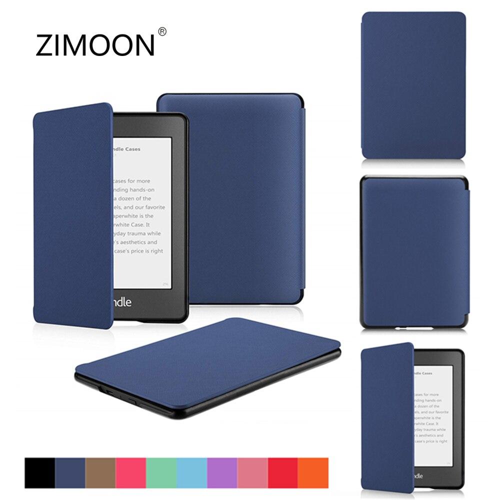 Чехол-книжка Amazon Kindle Paperwhite 2/3/4, Магнитный смарт-чехол для нового Kindle 10 2019, жесткий чехол для Kindle 8 2016