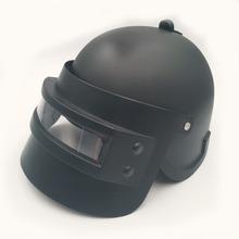 Dzieci dzieci fajna gra PUBG poziom 3 kask rekwizyty do Cosplay z łbem Cosplay sprzęt czapka pod kask Battleground gra Cosplay maska tanie tanio Prowow Other Kostiumy Game Prop Head Cap Mask Level 3 Cosplay Equipment Helmet Unisex