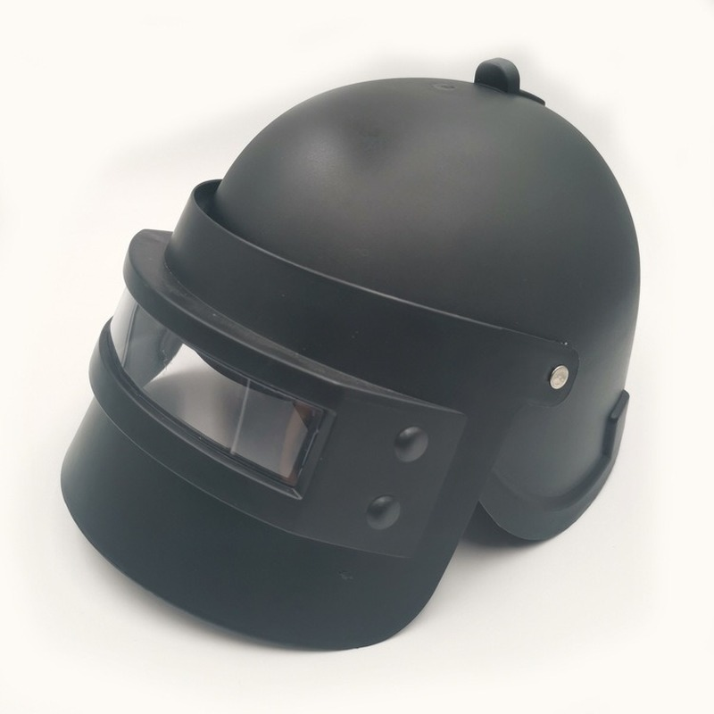 Kids Children Cool Game PUBG Level 3 Helmet Cosplay Props Head Cap Cosplay Equipment Helmet Hat Battleground Game Cosplay Mask