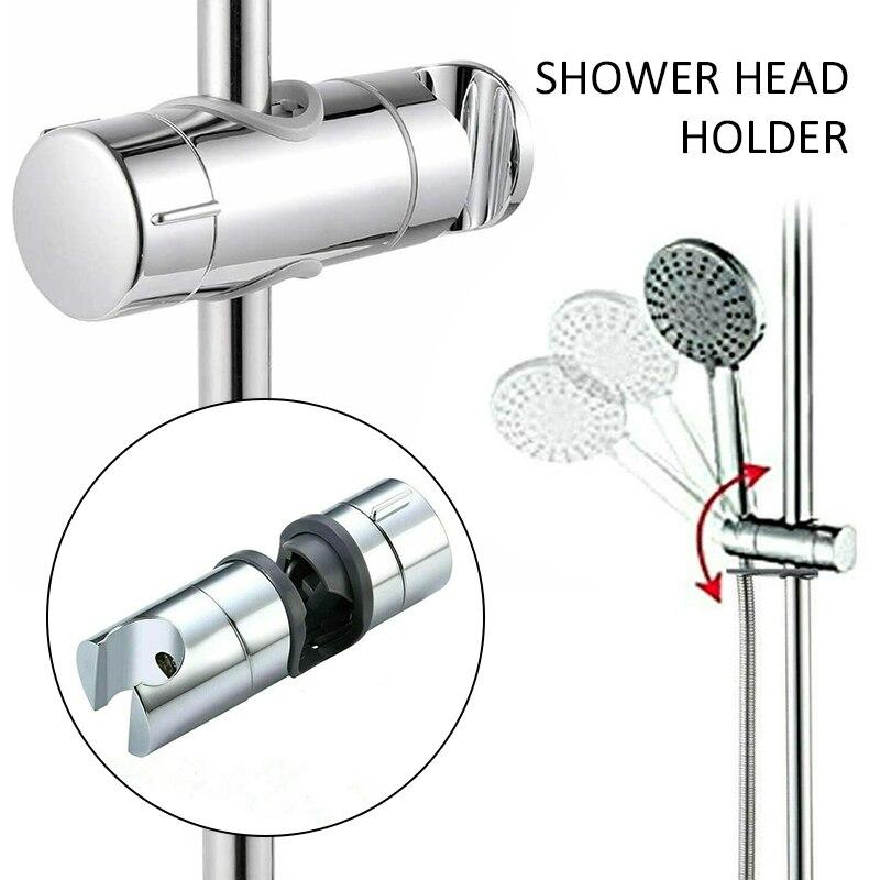 Новая прочная Универсальная регулируемая насадка для душа и шланг ползунок зажим ручной кронштейн аксессуары для ванной комнаты