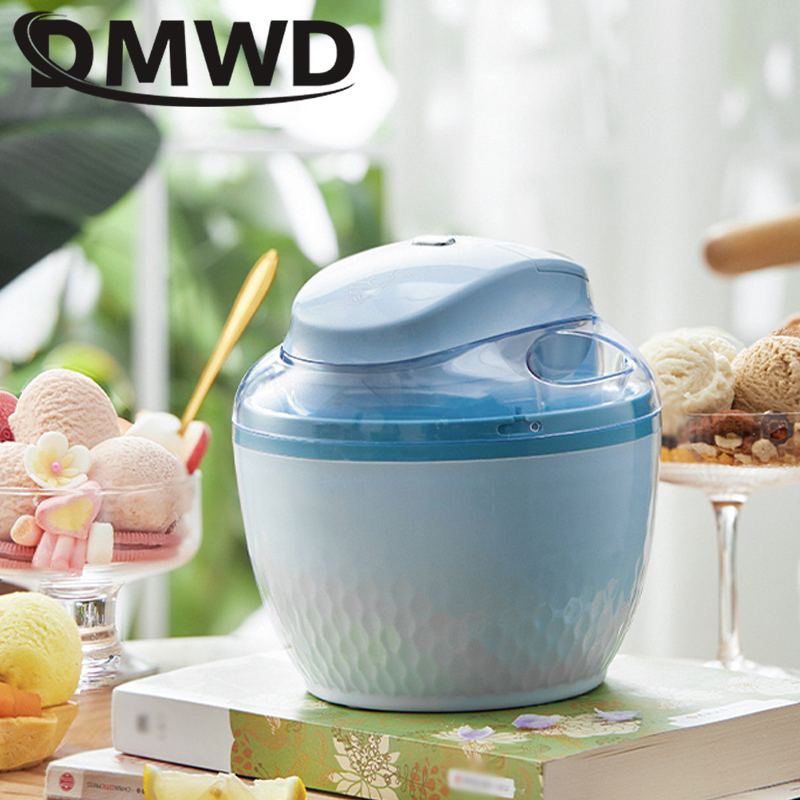 DMWD USB Household Ice Cream Maker DIY Child Ice Cream Machine Portable Ice Maker Available Easy Operation High Quality 0.5L