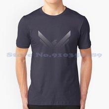 Tee-shirt à motif géométrique, gris, Design Cool, tendance, 2020