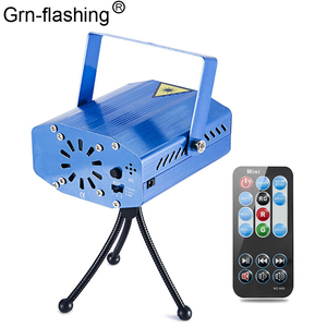 Image 1 - LED Laser Lights Projector stage light Sound Activated Auto Flashing Led Stage Lights for DJ Disco Party Show with Controller