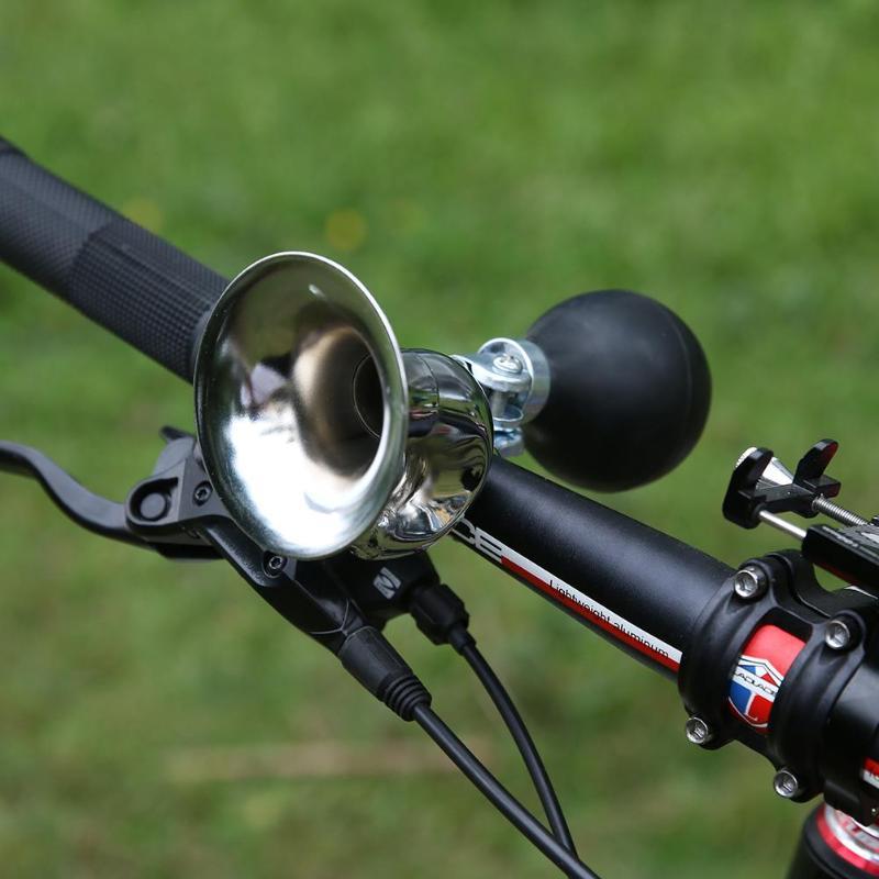 1x Bicycle Bell Road Mountain Bike Mental Plastic Sound Bike Handlebar Horn SG
