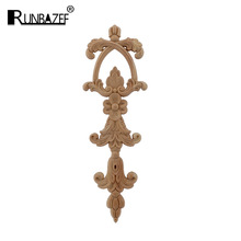 Decal Furniture Applique Window-Door-Decor Home-Decoration-Accessories Woodcarving Carved