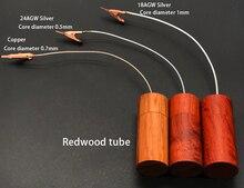Câble Audio HiFi boucle de terre isolateur de bruit GND trou noir éliminer lélectricité statique purificateur de puissance électronique