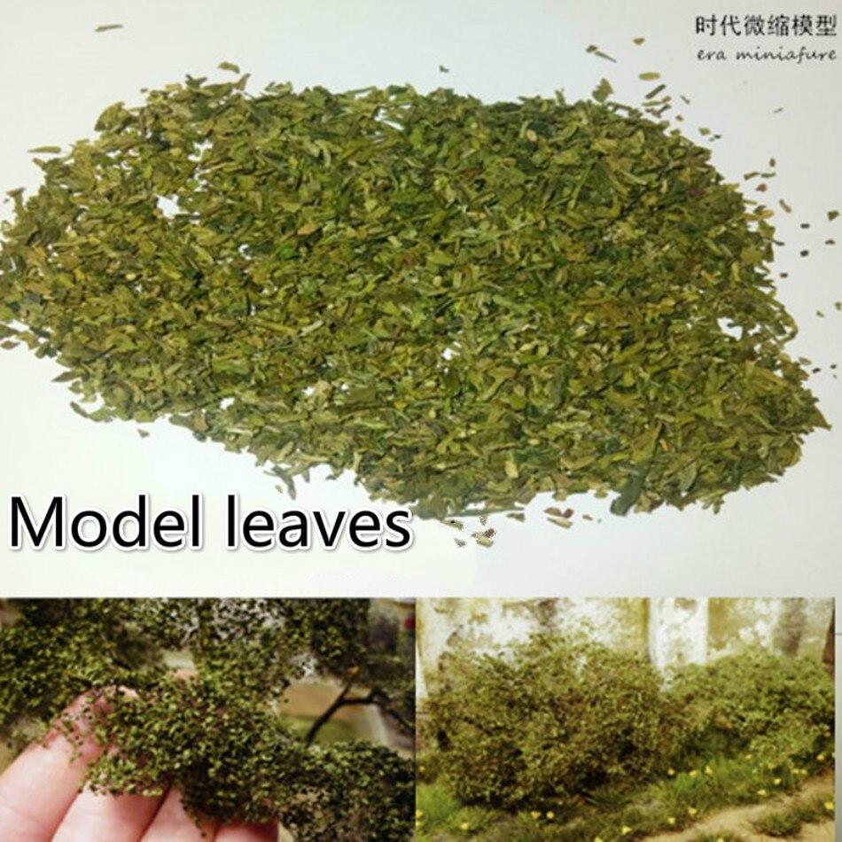 100 ml diy materialminiature modelo artificial árvore folha cena terraço mesa de areia vegetação